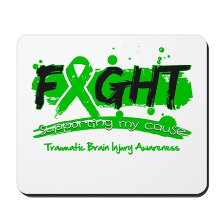 Fight Traumatic Brain Injury Mousepad