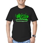 Fight Traumatic Brain Injury Men's Fitted T-Shirt