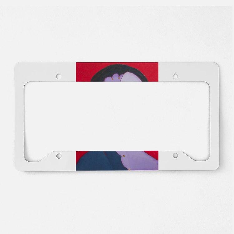 Inner Peace License Plate Holder