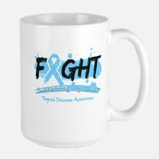 Fight Thyroid Disease Cause Mug