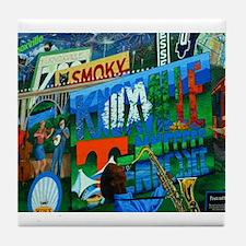 Knoxville, TN Mural Tile Coaster