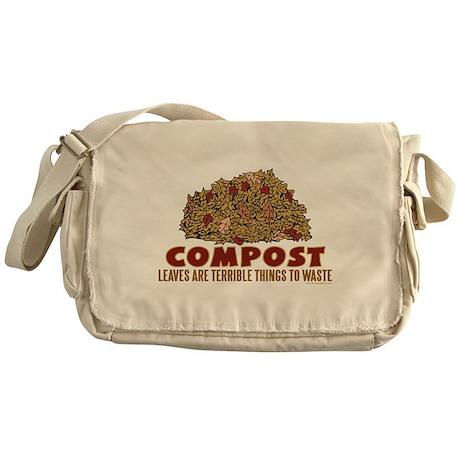 Composting Messenger Bag