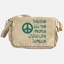 Imagine Peace Messenger Bag