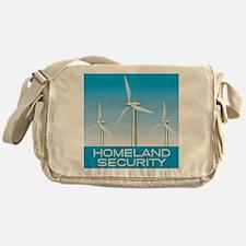 Wind Power America Messenger Bag