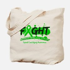Fight Spinal Cord Injury Disease Tote Bag