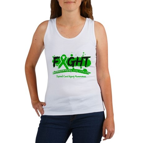 Fight Spinal Cord Injury Disease Women's Tank Top