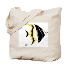 Moorish Idol Tote Bag