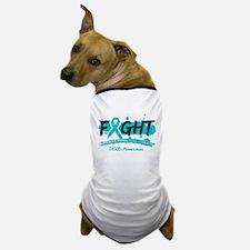 Fight PCOS Awareness Cause Dog T-Shirt