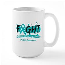 Fight PCOS Awareness Cause Mug