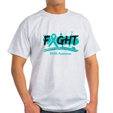 Fight PCOS Awareness Cause T-Shirt