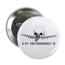"A-10 Thunderbolt II 2.25"" Button"