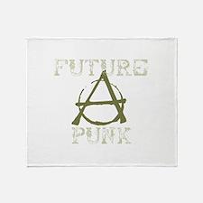 Future Punk Throw Blanket