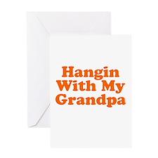 Hangin With My Grandpa Greeting Card