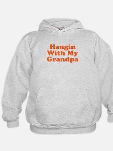 Hangin With My Grandpa Hoodie