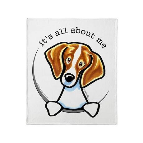 Beagle IAAM Throw Blanket