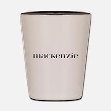 Mackenzie Carved Metal Shot Glass