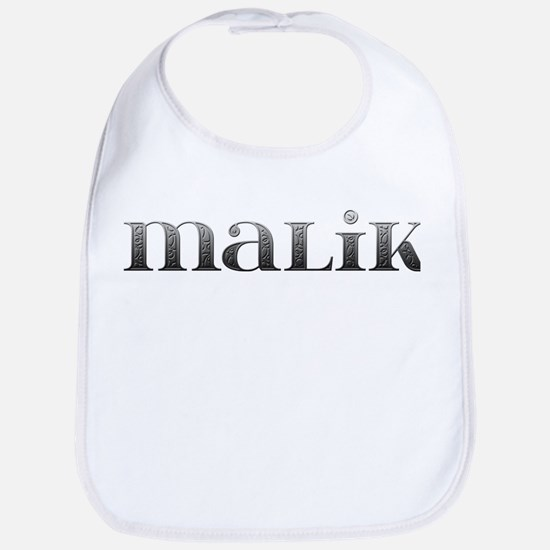 Malik Carved Metal Bib