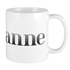 Marianne Carved Metal Small Mug
