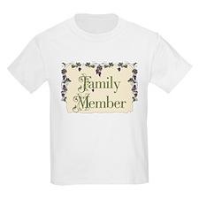 Family Member Kids T-Shirt