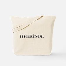 Marisol Carved Metal Tote Bag