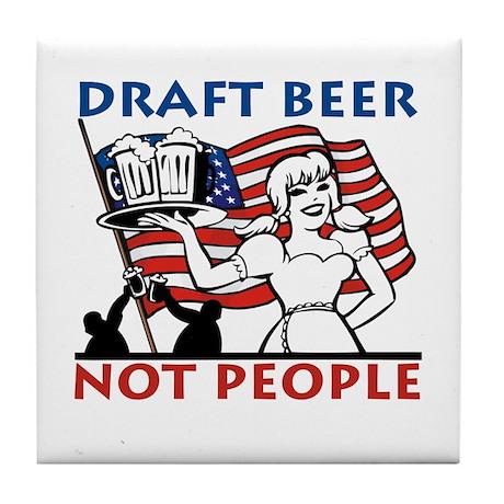 Draft Beer Tile Coaster