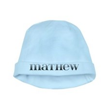 Mathew Carved Metal baby hat