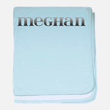 Meghan Carved Metal baby blanket