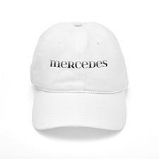 Mercedes Carved Metal Baseball Cap