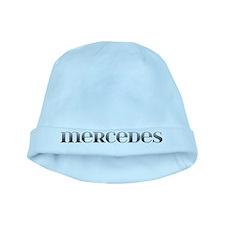 Mercedes Carved Metal baby hat