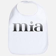Mia Carved Metal Bib