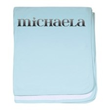 Michaela Carved Metal baby blanket