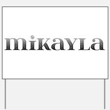 Mikayla Carved Metal Yard Sign