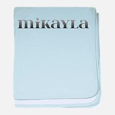 Mikayla Carved Metal baby blanket