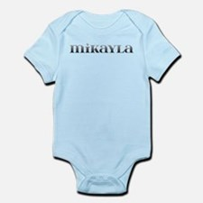Mikayla Carved Metal Infant Bodysuit