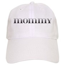 Mommy Carved Metal Baseball Cap