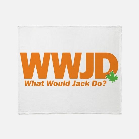 WWJackDo Throw Blanket