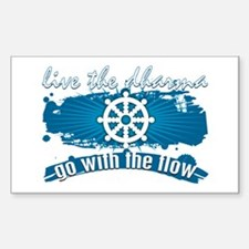 Dharma Go With the Flow Decal