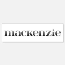 Mackenzie Carved Metal Bumper Bumper Bumper Sticker