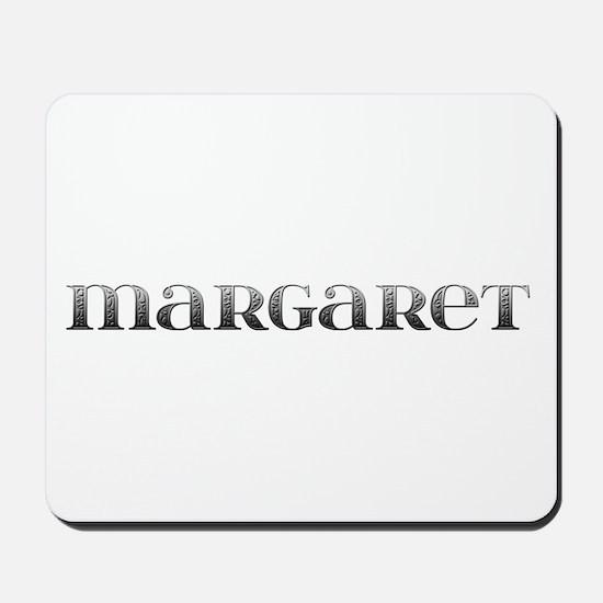Margaret Carved Metal Mousepad