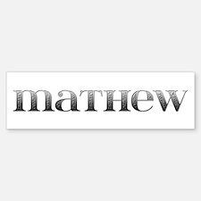 Mathew Carved Metal Bumper Bumper Bumper Sticker