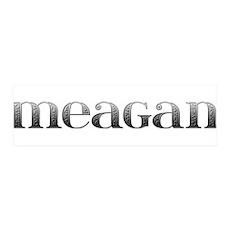 Meagan Carved Metal 42x14 Wall Peel