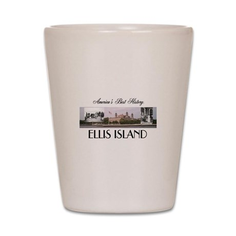 ABH Ellis Island Shot Glass