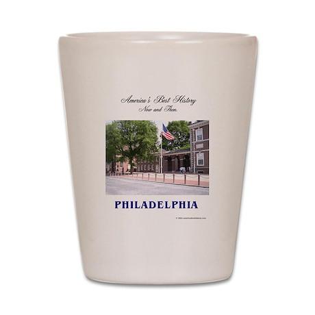 ABH Philadelphia Shot Glass