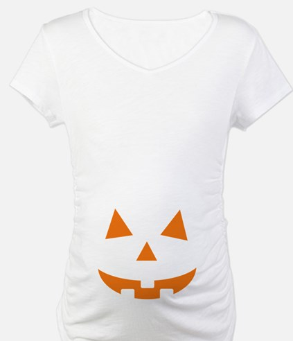 Jack O Lantern Belly Shirt