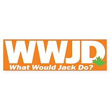 WWJackDo Bumper Sticker