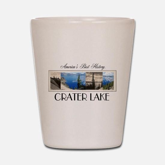 Crater Lake Americasbesthistory.com Shot Glass