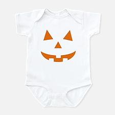 Jack O Lantern Belly Infant Bodysuit