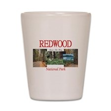 Redwood Americasbesthistory.com Shot Glass