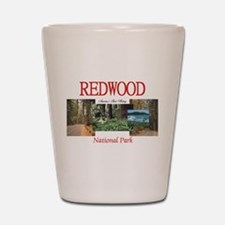 Redwood Americasbesthistory.com Shot Glass