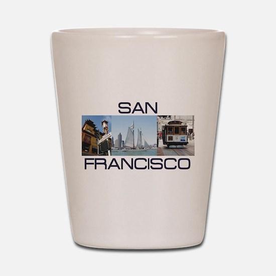 ABH San Francisco Shot Glass